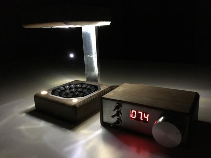 LEDで水滴を光らせる