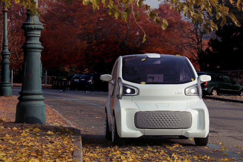 世界初の量産型3Dプリント電気自動車「LSEV」