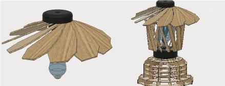 3Dプリンターとレーザーカッター を組み合わせる