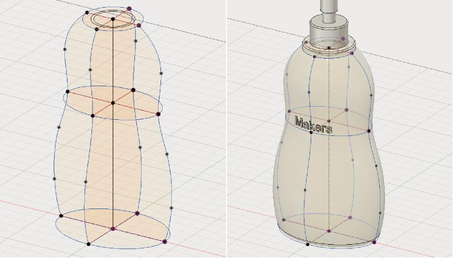 Fusion360で作った折りたたみスマホスタンド
