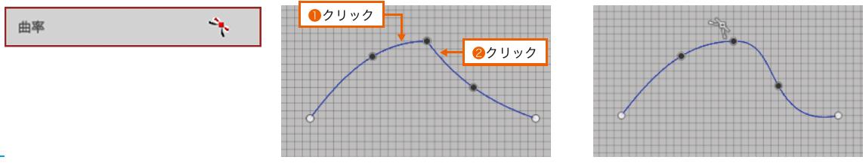 Fusion360の拘束 曲率