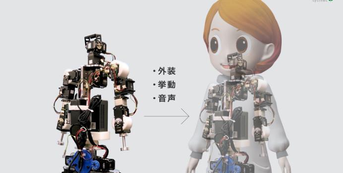 等身大キャラロボット