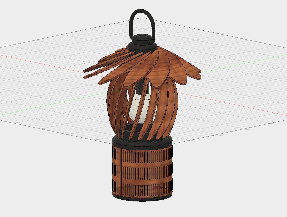 Fusion360でレーザカッターのランタンを作る