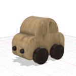課題:車の積み木