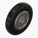 Fusion360で作ったタイヤのホイール
