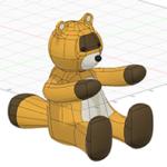 Fusion360スカルプト基礎講座 くまのフィギュアを作る