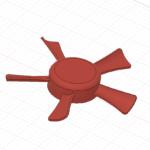 Fusion360で扇風機の羽根を作る