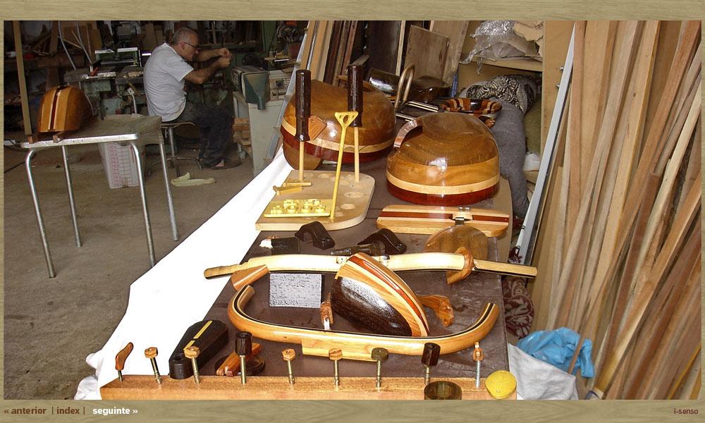 木製ヴェスパ 制作過程