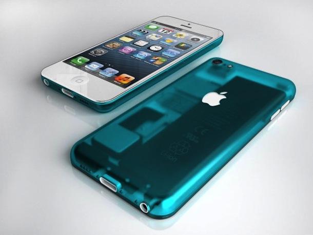 iPhone廉価版 コンセプトモデル