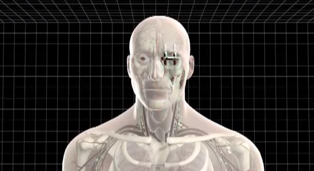 3Dプリンターの義顔