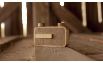 木製カメラ