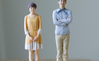 無印良品 3Dフィギュア プロモーション
