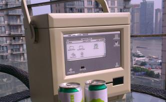 初代Macデザインのクーラーボックス