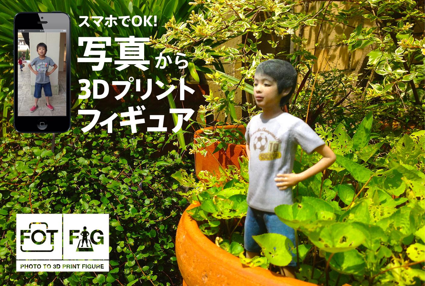 3Dフィギュアサービス フォトフィグ