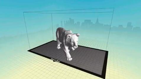 3Dスキャナーのデータ