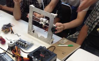 3Dプリンター組み立てセミナー3