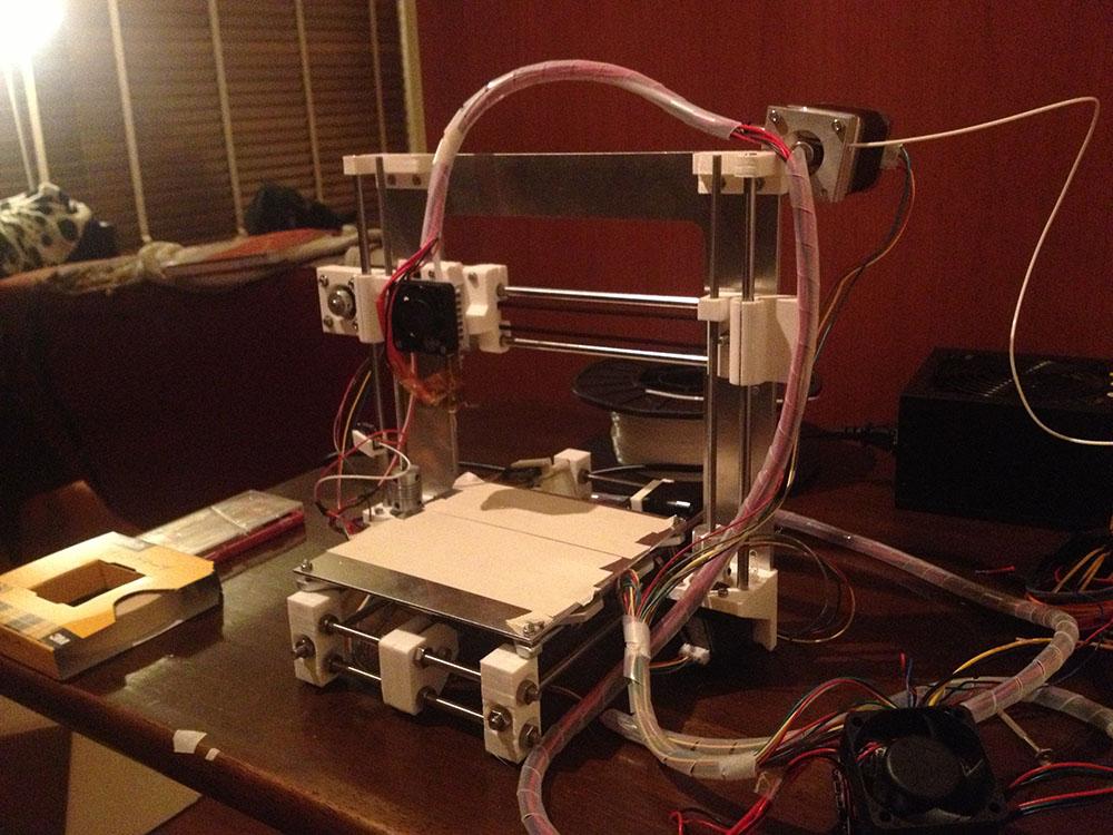 Genkei 「atom」3Dプリンター組み立て5