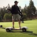 ゴルフ用スケボーのkickstarterプロジェクト