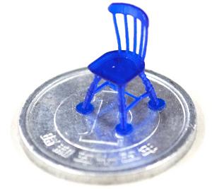 低価格の光学造形3Dプリンターのサンプル
