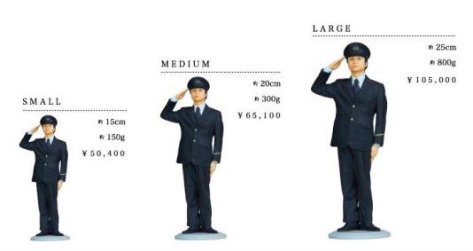 鉄道員フィギュア 価格