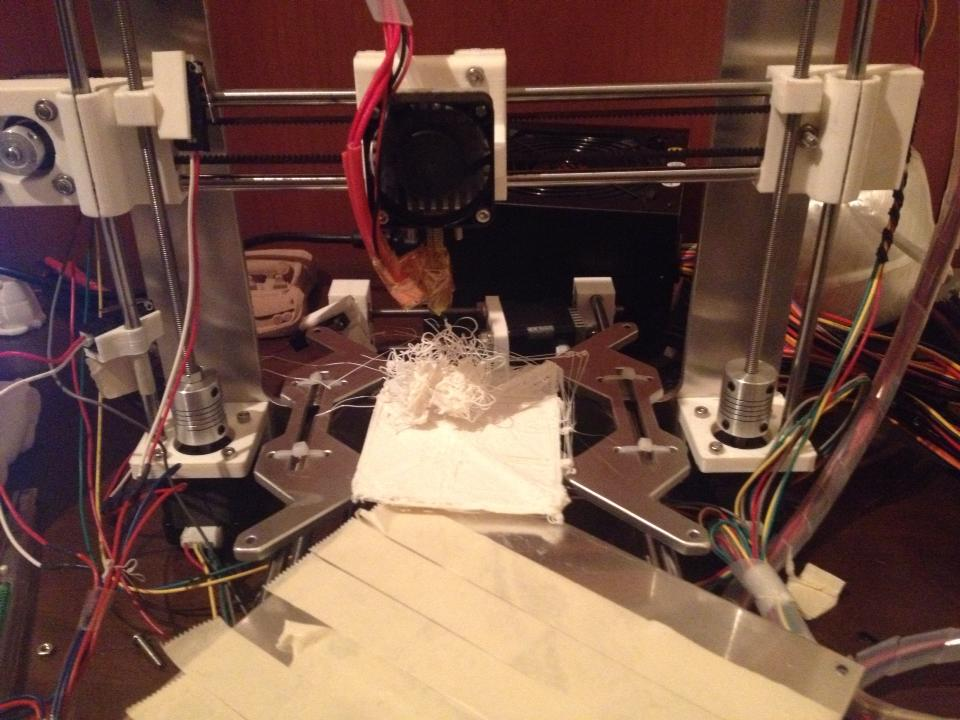 3Dプリンターの出力失敗