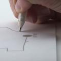 紙に電子回路を書ける