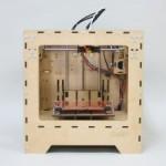 木製のボックス型3Dプリンター