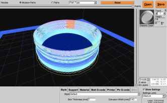 3Dプリンターのスライス設定