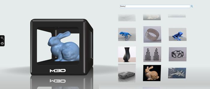 3Dプリンター オープンデータ検索