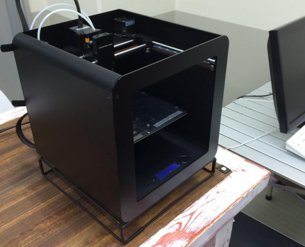 3Dプリンター アーモンドの筐体