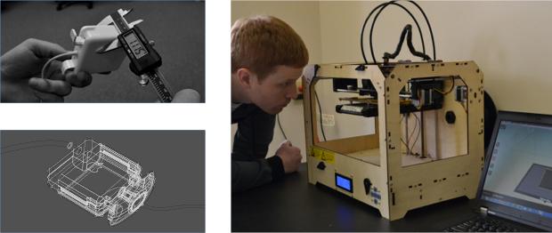 3Dプリンターでの試作