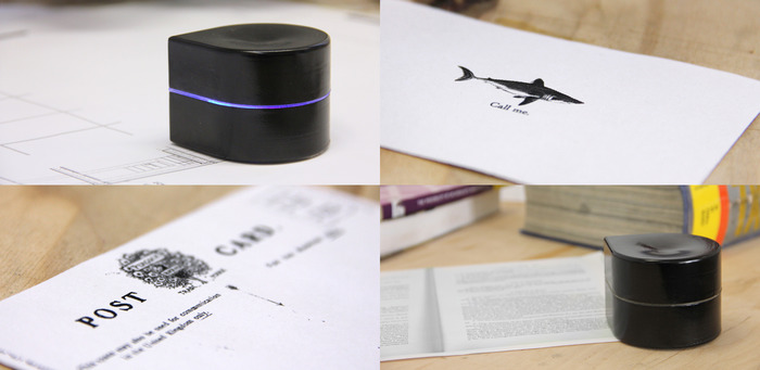 Mini Mobile Robotic Printerのプリント方法