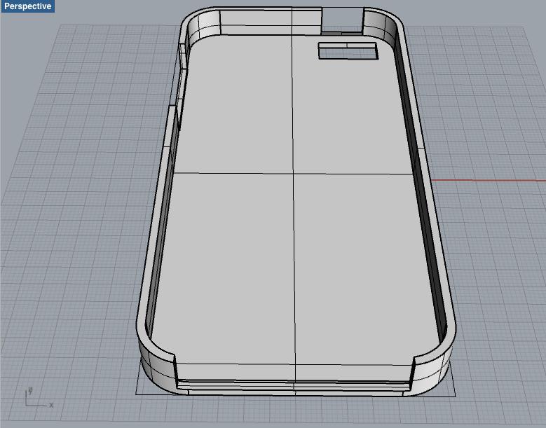 iPhone 5ケース ベースが完成