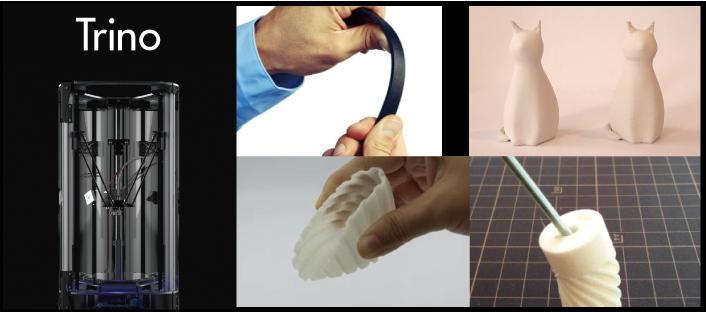 Genkeiの新型3Dプリンター Trinoの発表会