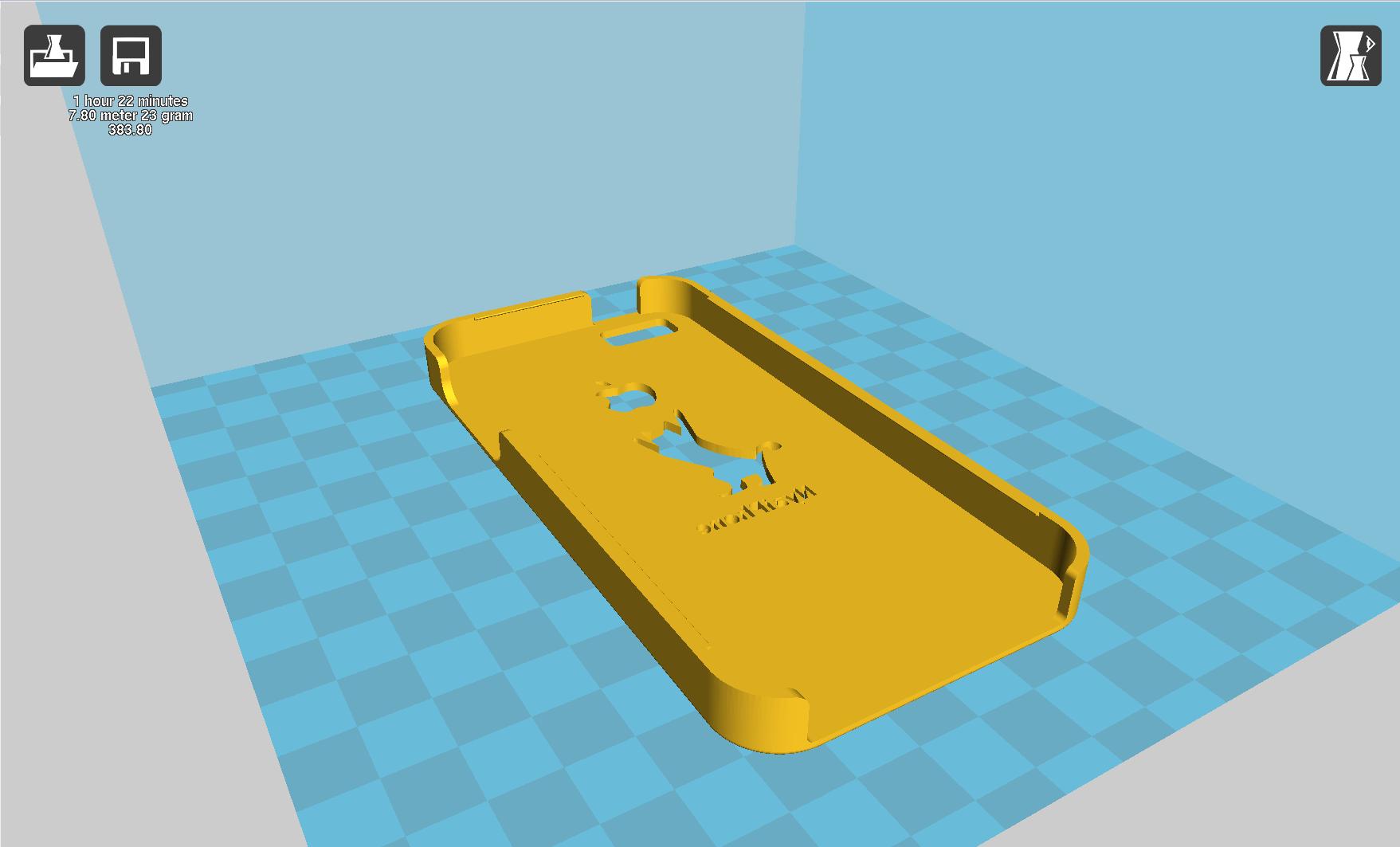 3Dプリンター アーモンド用のドライバー オーシーキュラ(OC Cura)