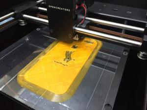 3DプリンターでiPhoneケースをプリント