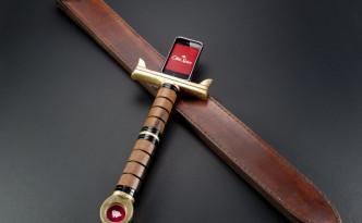 剣のようなiPhoneケース