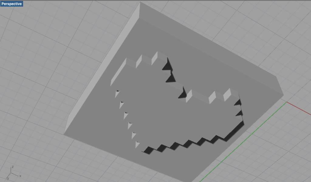 3D Stamp Makerで作ったデータを開いてみた