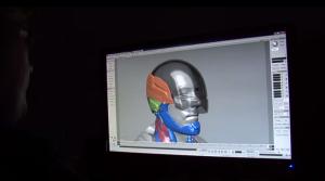 ロボコップでの3Dモデリング