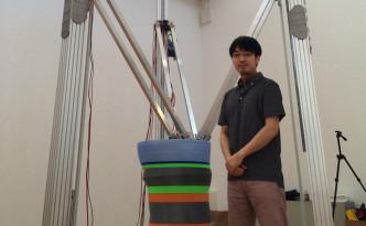 Genkei代表の加藤大直さんが設計した巨大3Dプリンター