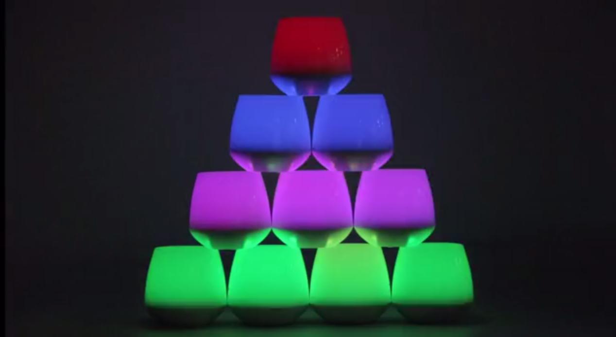 キャンドル型LEDライトをスマホから操作