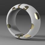 3DCG アクセサリーの3Dプリント例