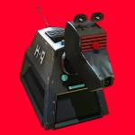 3DCG キャラクターの3Dプリント例2