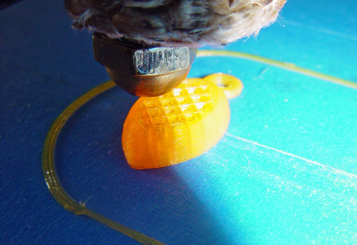 3Dプリンターでフットボールを作る