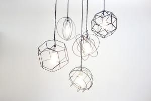 DIWIREによるワイヤー加工例 照明器具