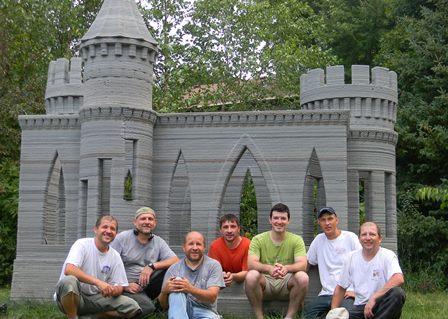 3Dプリンターで城を作る