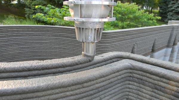 コンクリート3Dプリンター