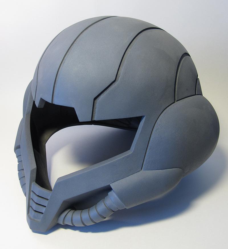 コスプレ用のヘルメットをZprinterで出力