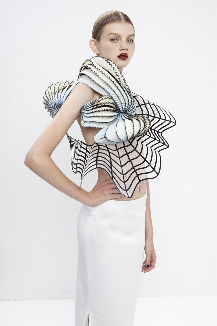3Dプリンターを使ったファッションハードコピー1