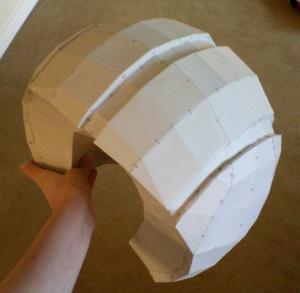 コスプレ衣装の大まかなカタチを3Dプリント